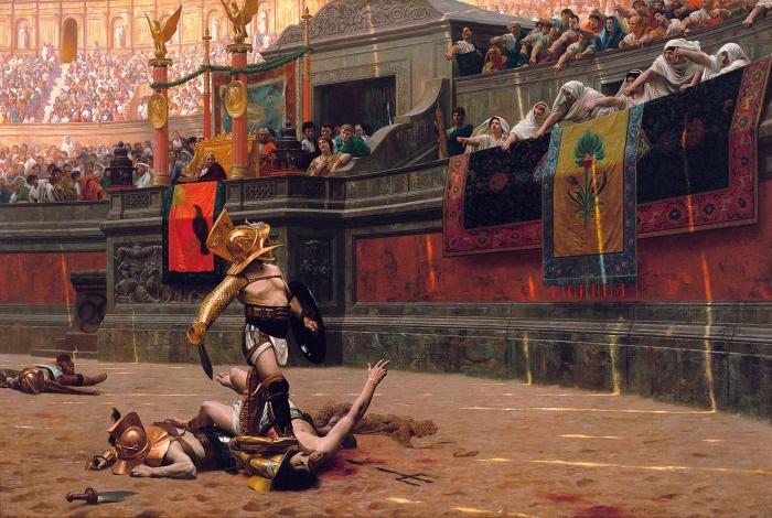 Pollice Verso, 1872 painting by Jean-Léon Gérôme (Phoenix Art Museum)
